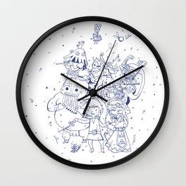 Le chant du temps Wall Clock