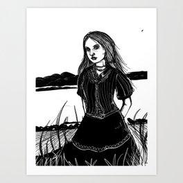 Inktober 5 Art Print