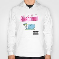 minaj Hoodies featuring Gary Anaconda (Parody) by TxzDesign