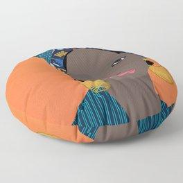 Joio, Mozambique Capulana Lady Floor Pillow