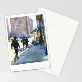 Walking in Chelsea Stationery Cards