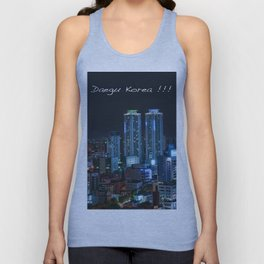 Daegu at Night Unisex Tank Top
