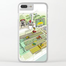 Agrarian Clear iPhone Case