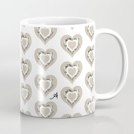 Rose Garden Mushroom Love Amanya Design Coffee Mug