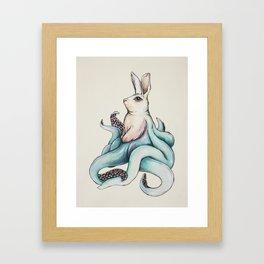 Edgar, the Octorabbit Framed Art Print