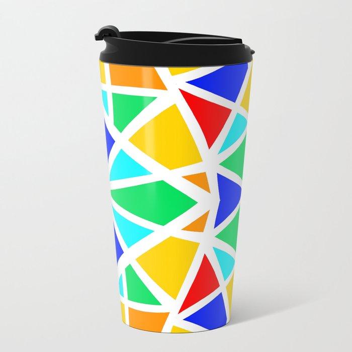 Candy Glass Metal Travel Mug