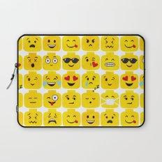 Emoji-Minifigure Laptop Sleeve