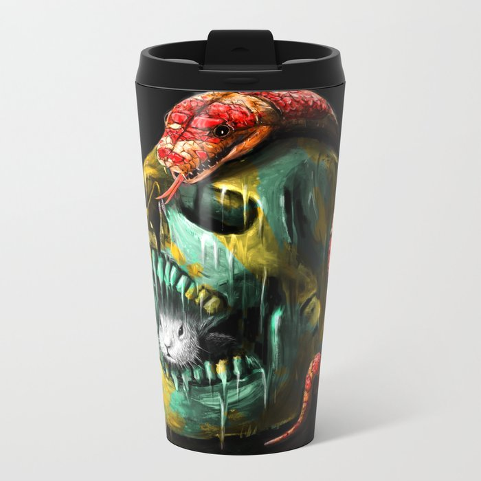 Fear and Desire Metal Travel Mug