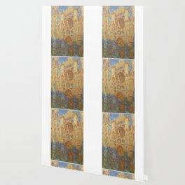 Monet, Rouen Cathedral, La Cathédrale de Rouen Wallpaper