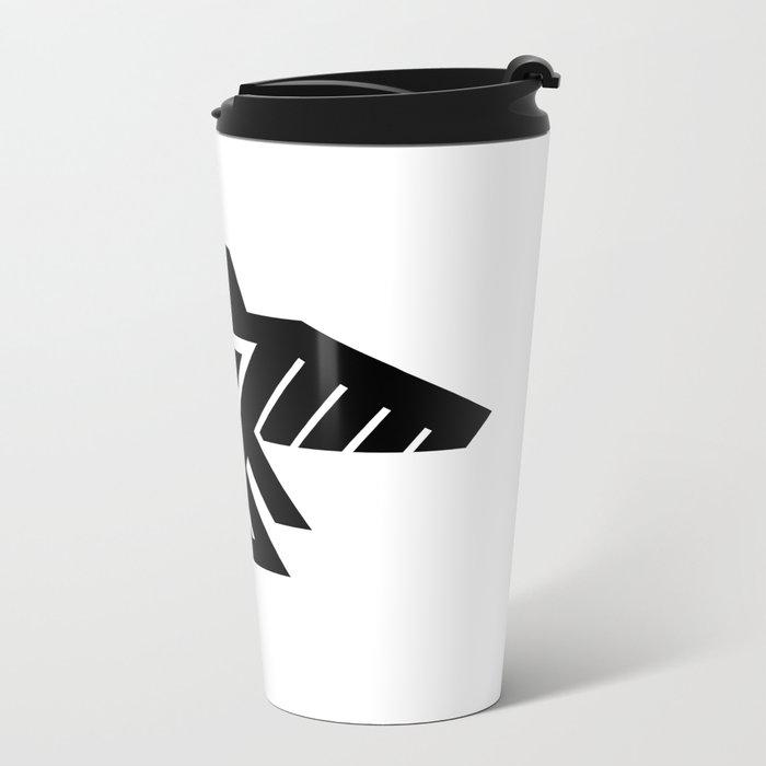 Native American Thunderbird Symbol Flag Travel Mug By
