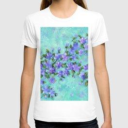 Flowering Branch - Purple T-shirt