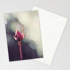 Rose Bud in Enchanting Bokeh Stationery Cards