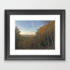 Fall Clearing Framed Art Print