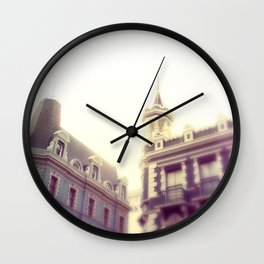 pretty city ll Wall Clock