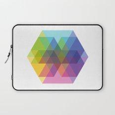 Fig. 040 Hexagon Shapes Laptop Sleeve