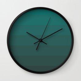 Blue Gradient Wall Clock