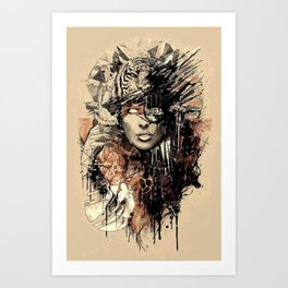 ANIMAL x MEN Art Print