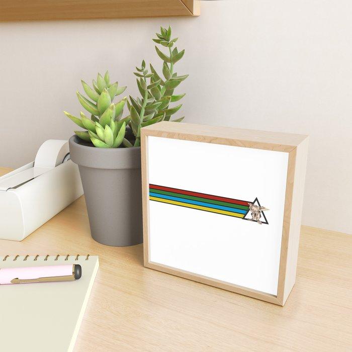 Always Free Banner- Wild World Of Paper Framed Mini Art Print