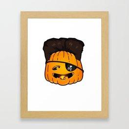 kim jong pumpkins Framed Art Print