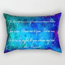 LOVE:  THE SONG OF SOLOMON Rectangular Pillow