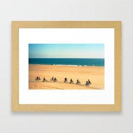 Cycles Framed Art Print