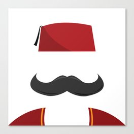 Man with a Fez Canvas Print
