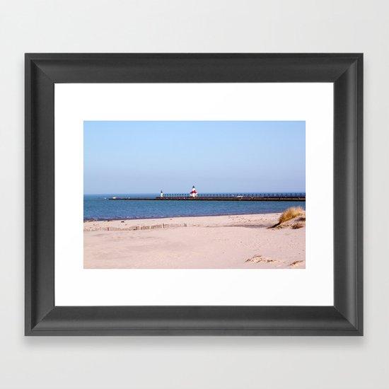 Pierview Framed Art Print