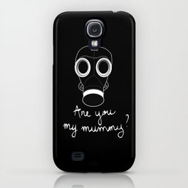 Doctor Who - Are you my mummy ? iPhone Case