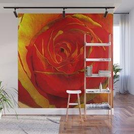 Amber Rose Wall Mural