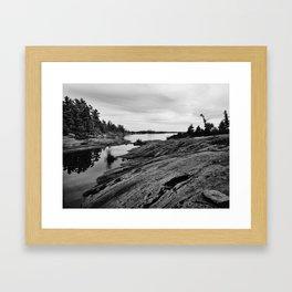 The Massasauga Park Framed Art Print