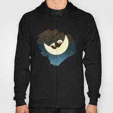 Sleeping Panda on the Moon Hoody