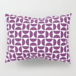 HALF-CIRCLES, PURPLE Pillow Sham