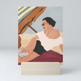 Beach Life II Mini Art Print