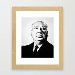 A. Hitchcock Framed Art Print