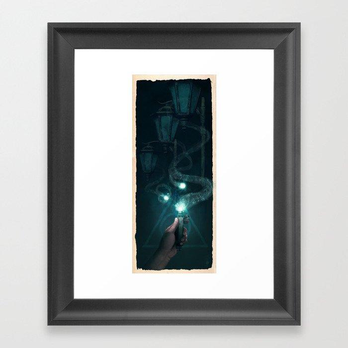 Ron and the Deluminator Framed Art Print
