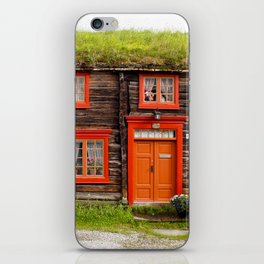 Roros, Norway Home on Harald Sohlberg Place iPhone Skin