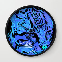 Ocelot Wall Clock