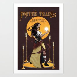 Fortune Teller's Secret Art Print