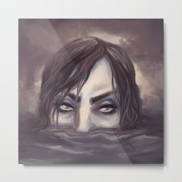 Submerged Metal Print