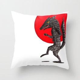 pas de loup Throw Pillow