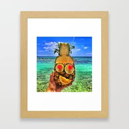 Sun Daze Framed Art Print