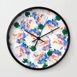 Wild Flora #society6 #decor #buyart Wall Clock