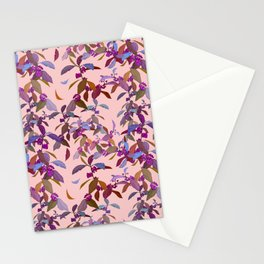 Beautyberry on Pink Stationery Cards