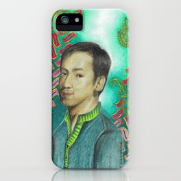 Lonely Man iPhone Case