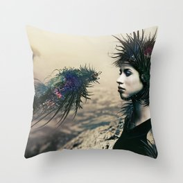 The Last Neuroapache Throw Pillow