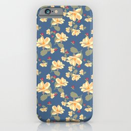 Summertime Blue iPhone Case