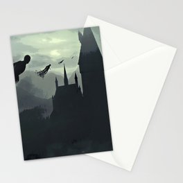 Harry Potter - The Dementors Come To Hogwarts Stationery Cards