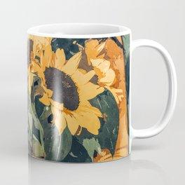 Holding Sunflowers #society6 #illustration #nature #painting Coffee Mug