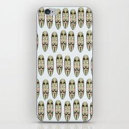 wir sind viele   (A7 B0017) iPhone Skin