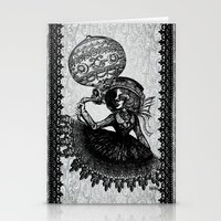kobe Stationery Cards featuring Love Monochrome by AKIKO